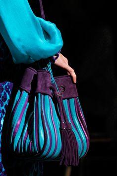 purple blue tote