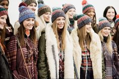Tommy Hilfiger fall 2014 - behind the scenes
