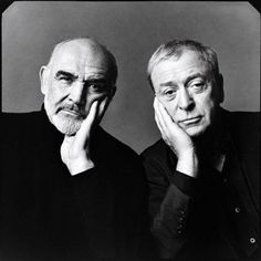 Connery and Caine - the movie they did together (The Man Who Would Be King) was so entertaining! They convince a primitive people that Connery is a god.