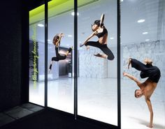 dance facility window graphics - Google Search