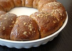 Mia's Domain | Real Food: Squaw Bread Rolls.....a slightly sweet mutigrain bread loaded with fiber