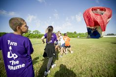 Children from the Boys & Girls Club spent the morning at the Martin County Fairgrounds to watch a hot air balloon operated by RE/MAX of Stuart-  #remax #realestatecareer
