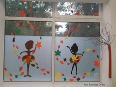 Fall Classroom Decorations, School Decorations, Art Classroom, Autumn Crafts, Autumn Art, Diy For Kids, Crafts For Kids, Decoration Creche, Diy Crafts Vintage