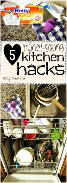 I made a lot of mistakes and have stumbled my way to these 5 Easy Money-Saving Kitchen Hacks Every Mom Needs to Know.