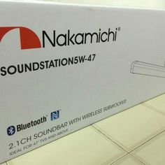 Nakamichi soundsation5w 47 29000 available in Afraah Electronics