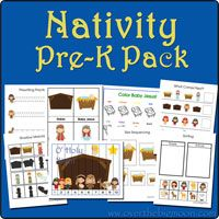 Lots of Free Pre-k printable packs.