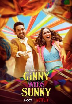 RELEASE DATE FINALIZED... #GinnyWedsSunny - starring #YamiGautam and #VikrantMassey - premieres 9 Oct 2020 on #Netflix... Directed by Puneet Khanna.