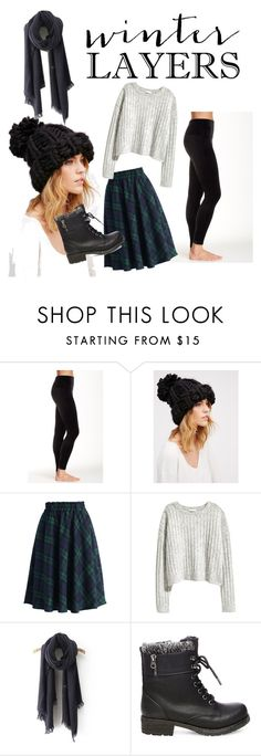 """""""Winter Layers."""" by livers-1 ❤ liked on Polyvore featuring SPANX, Free People, Chicwish and Steve Madden"""