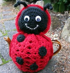 Isn't she just the cutest little thing to keep your brew warm?