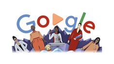 Today's annual International Women's Day Doodle celebrates women coming together throughout the world—and generations—with a special animated video. The multilayered paper mandala . Logo Google, Art Google, Caricatures, Doodle Google, Google Homepage, Anderson Freire, Google Today, Web Design, Ho Trains
