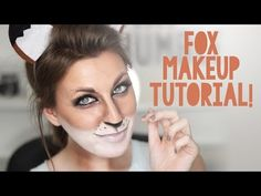 Fox Makeup Tutorial for Halloween - Wonder Forest