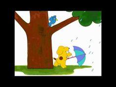 Dribbel paraplu Symbols, Kids, Art, Winter, Youtube, Rain, October, Young Children, Art Background