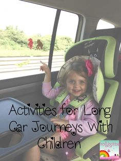 some great tips to make long car journeys with kids less stressful!