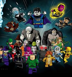 Once  the LEGO Batman 3: Beyond Gotham video game was announced for release, I knew that 2015 was going to be a huge year for the LEGO Batman (LEGO DC Super Heroes) line of sets. And as is sometimes the case (I'm batting about 70/30 lately), my prediction was right. However, LEGO has completed blown away all of my expectations--the 2015 LEGO DC Superheroes sets contain unquestionably best wave of LEGO DC Minifigures that we've ever gotten! The first-ever LEGO minifigures of Darkseid…