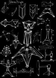 Polyhedron Art House Sketch