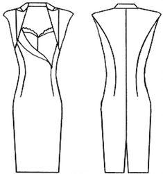 Шьем (или просто выбираем фасон) модного платья на Новый год! Выкройки разнообразных вечерних платьев, модный обзор и идеи для вдохновения!!!