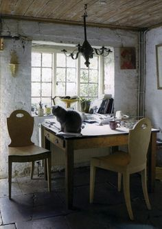 Home Office Ideas Stylish And Dramatic Masculine Home Office Design Ideas . 42 Awesome Rustic Home Office Designs DigsDigs. 40 Floppy But Refined Boho Chic Home Office Designs DigsDigs. Home and Family English Cottage Interiors, English Cottage Style, Irish Cottage, French Cottage, English Cottages, French Country, Rustic Cottage, Shabby Cottage, Cottage Chic