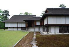 Katsura Imperial Villa Kobori Enshu, at Kyoto, Japan, 1620 (circa) Japanese Buildings, Japanese Architecture, Architecture Design, Timber Buildings, Kyoto Japan, Japan Japan, Japanese House, Construction, Traditional House