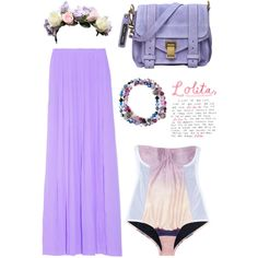 Style Inspiration : Little doll house of my heart - pastel purple