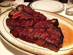 Wolf Gang Steak House Ny Steak, My Favorite Food, Favorite Recipes, Desert Recipes, Japanese Food, Barbecue, Nom Nom, Deserts, Tasty