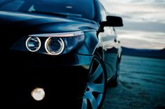 Angel Eyes: BMW 530i headlight