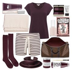 """""""Lazy Day"""" by sophie-martina ❤ liked on Polyvore featuring Essie, Kevyn Aucoin, Whistles, Origins, Juvia, Donna Karan, Teixidors, Forever 21, Olympia Le-Tan and Bobbi Brown Cosmetics"""
