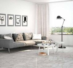 Neptune giant tiles are a great tile choice for anyone seeking large grey tiles. These modern tiles are made from hard-wearing porcelain and can be used within domestic or commercial environments.
