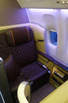 Singapore Airlines NEW First Class, Singapore to Mumbai