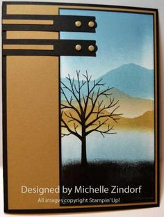 masculine card by Michelle Zindorf