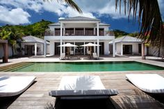Luxury villa on the beautiful island of St. Barts~~ the rental price?  Oh Pul-eeze~This gorgeous haven can be all yours for however long you desire, at the nightly price of $14,285-$35,715,  What do you think, is this piece of paradise worth the price of admission?