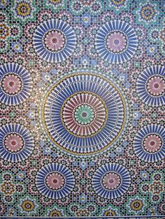 Arabic Tile Patterns