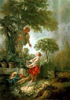 François Boucher - The Cherry Gatherers (1768)