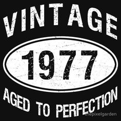 Vintage 1977 Birthday