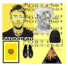 """""""radiohead :3"""" by natia-22 ❤ liked on Polyvore featuring Curioos, women's clothing, women, female, woman, misses and juniors"""