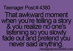 happens to me all the time.