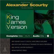 Scourby KJV Complete Bible Audio MP3 CD