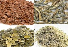 The 10 Healthiest Seeds on Earth.   Loaded with vitamins & minerals, seeds are an excellent source of fibre, protein & antioxidants, and are a rich source of omega-3 fatty acids. Seeds help reduce joint pain, aid in weight loss, deliver an energy boost & protect against serious ailments such as diabetes and heart disease!  Follow Us for more healthy tips! www.SportsNutritionMarket.com