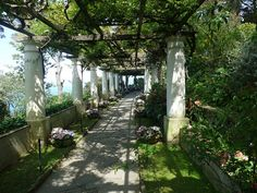 Villa San Michele, Anacapri by Ian Runeckles on Flickr - Axel Munthe's beautiful house and garden on Capri