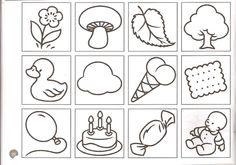 Symbolen Printable Handwriting Worksheets, Preschool Worksheets, Doodle Drawings, Easy Drawings, Cartoon Cow, Notebook Art, Shrink Art, Motor Skills Activities, Cute Doodles