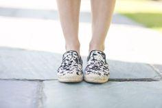 Leopard Flats - @Damsel In Dior wearing Elyse Walker Los Angeles Espadrilles - The coordinates are 27.9789 °N97.3986 °W.