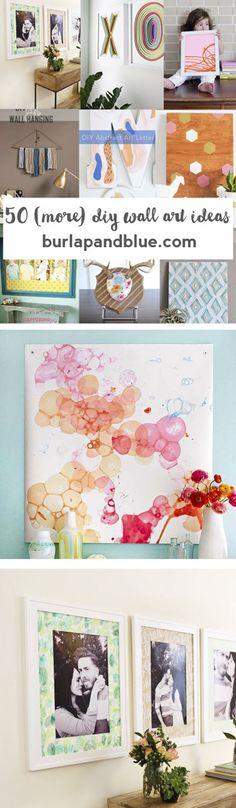 DIY Art   Canvas Art   Crafts   Wall Art   Home Decor