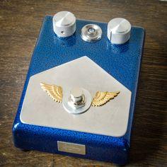 Classic 70's Fuzz - Guitar Pedal - Custom Handmade Guitar Pedal by GnarHeel Pedals. $199.00, via Etsy.