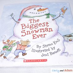 January STEM Read Alouds (The Biggest Snowman Ever Winter Read Aloud STEM Activity): Using read alouds and STEM activities creates a fun and engaging classroom. Students love the hands-on STEM challenges that incorporate, reading, writing, and making. The following are our top 5 STEM read alouds and activities for January. #STEM #STEMchallenges