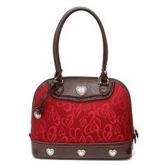 Brighton in red and brown, love the brighton purses.