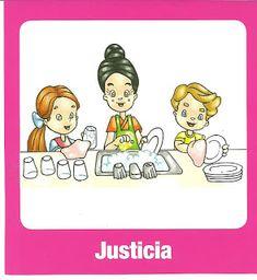 Justicia, valores para imprimir