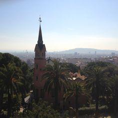 Desde el parque de Gaudí