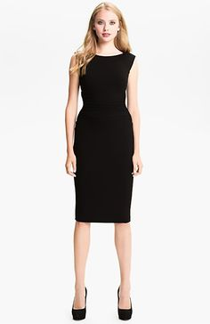 nordstrom B44 dressed by Bailey 44 ruched cap sleeve sheath dress sheath dress 1500.jpg (1000×1545)