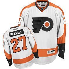 6e85c21b3 Authentic Ray Emery White Men s NHL Jersey  Philadelphia Flyers Reebok Away
