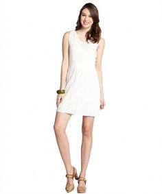 M Missoni cream stretch wool blend sleeveless knit dress on WearsPress