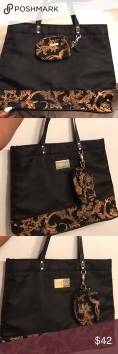 Used Versace tote bag and wallet Perfect condition Versace tote bag and wallet Versace Bags Totes
